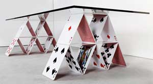 house of card table